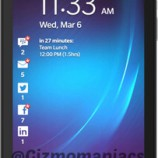 BlackBerry Z10 with detailed specs