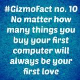 Gizmofact no. 10