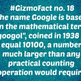Gizmofact no. 18