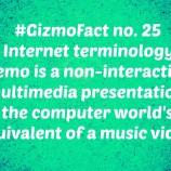 Gizmofact no. 25