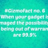 Gizmofact no. 6