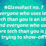 Gizmofact  no. 7