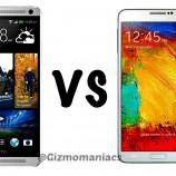 HTC One Max v/s Galaxy Note 3 Comparison