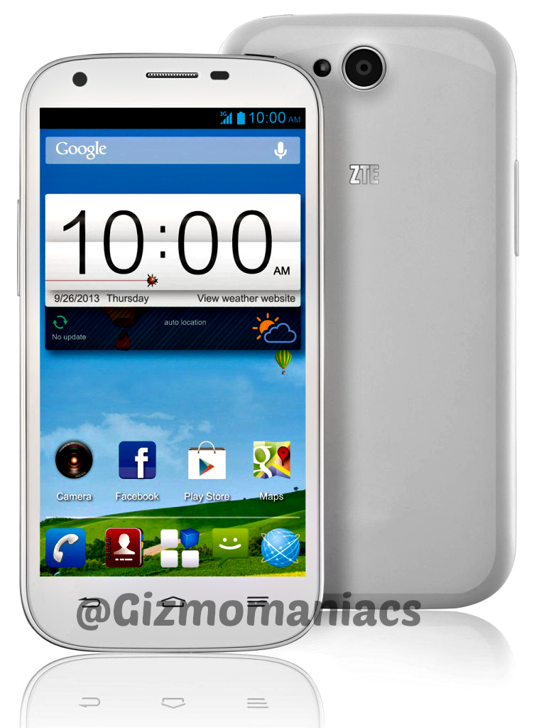 told have zte blade q maxi will