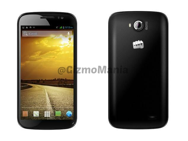 Micromax Canvas Duet two