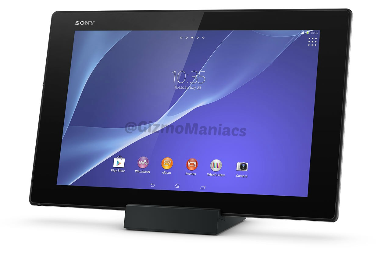Sony Xperia Z2 Tablet gizmomaniacs