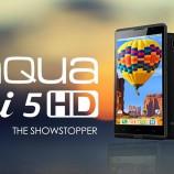 Intex Aqua i5 HD launched at Rs. 9,990
