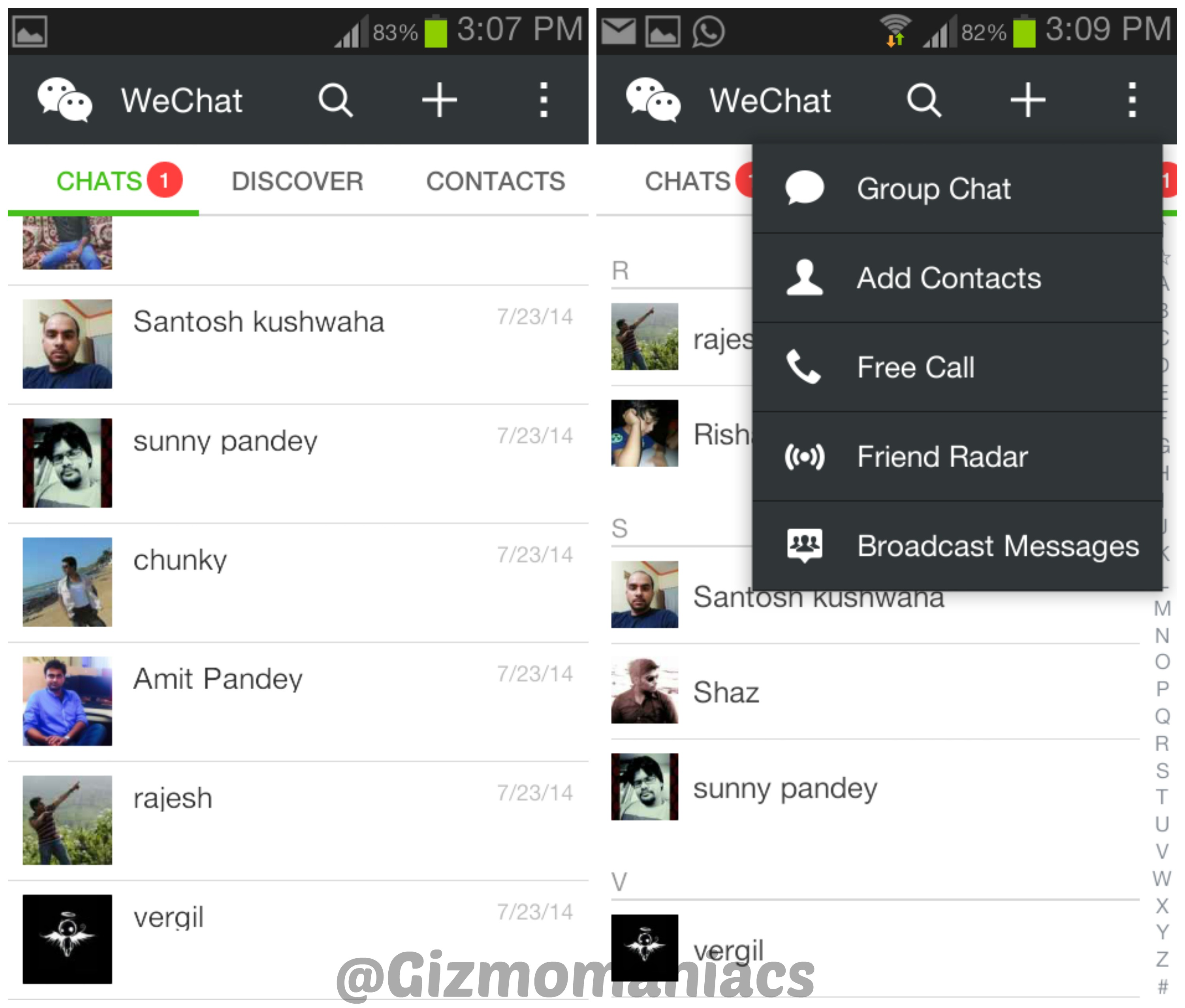 Image Gallery Wechat Android