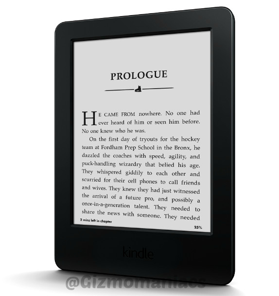 Amazon Kindle with Touch