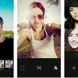 LINE launches a new camera app dedicated to selfies…B612