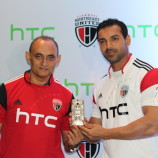 HTC joins NorthEast United FC as lead sponsor in The Hero ISL 2014