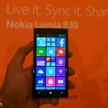 Lumia 830 with 10MP Pure view camera launched in India for Rs. 28,799