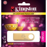 This Diwali…Kingston introduces Limited edition Gold Plated USB drive