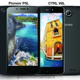 Gionee CTRL V6L LTE and Pioneer P5L LTE with Android 4.4 KitKat launched in India for Rs. 15,000 and Rs. 10,000