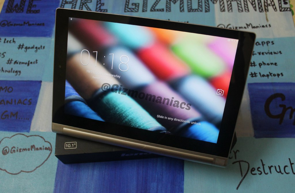 Lenovo Yoga Tablet 2 Unboxing