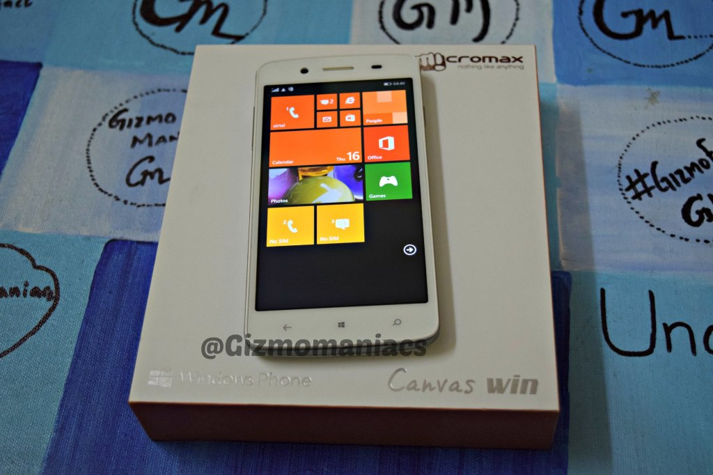 Micromax Canvas Win 121