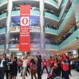 Opera Mini flash mob in India