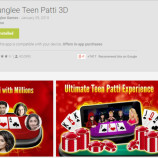 Junglee Teenpatti App launched – A virtual casino for the smartphones