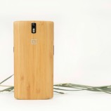 OnePlus One StyleSwap cover made from Bamboo launched in India for Rs. 1,499