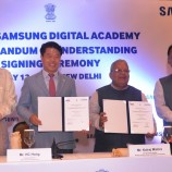 Samsung to set up MSME-Samsung Digital Academy in India and signs with MoU ministry