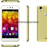 Micromax Canvas Selfie Lens Q345 announced in India for Rs. 8,299