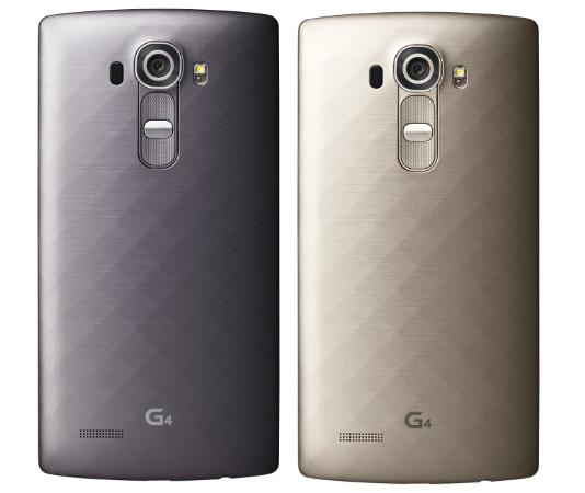 LG G4 Titanium Metallic