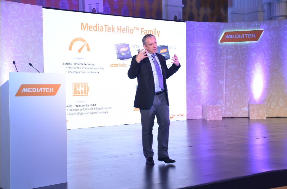 Mr. Finbarr Moynihan, General Manager, Corporate Sales International, MediaTek 2