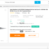 Experience with Snapdeal for purchasing MacBook