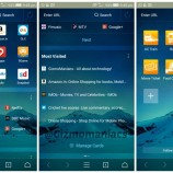 UC Browser 10.7: Complete refreshed look