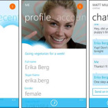 Skype and office suite integrated on windows phone