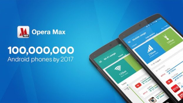 Opera max : A new app to save mobile data