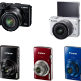 Canon launches its Compact & Mirrorless Camera portfolio