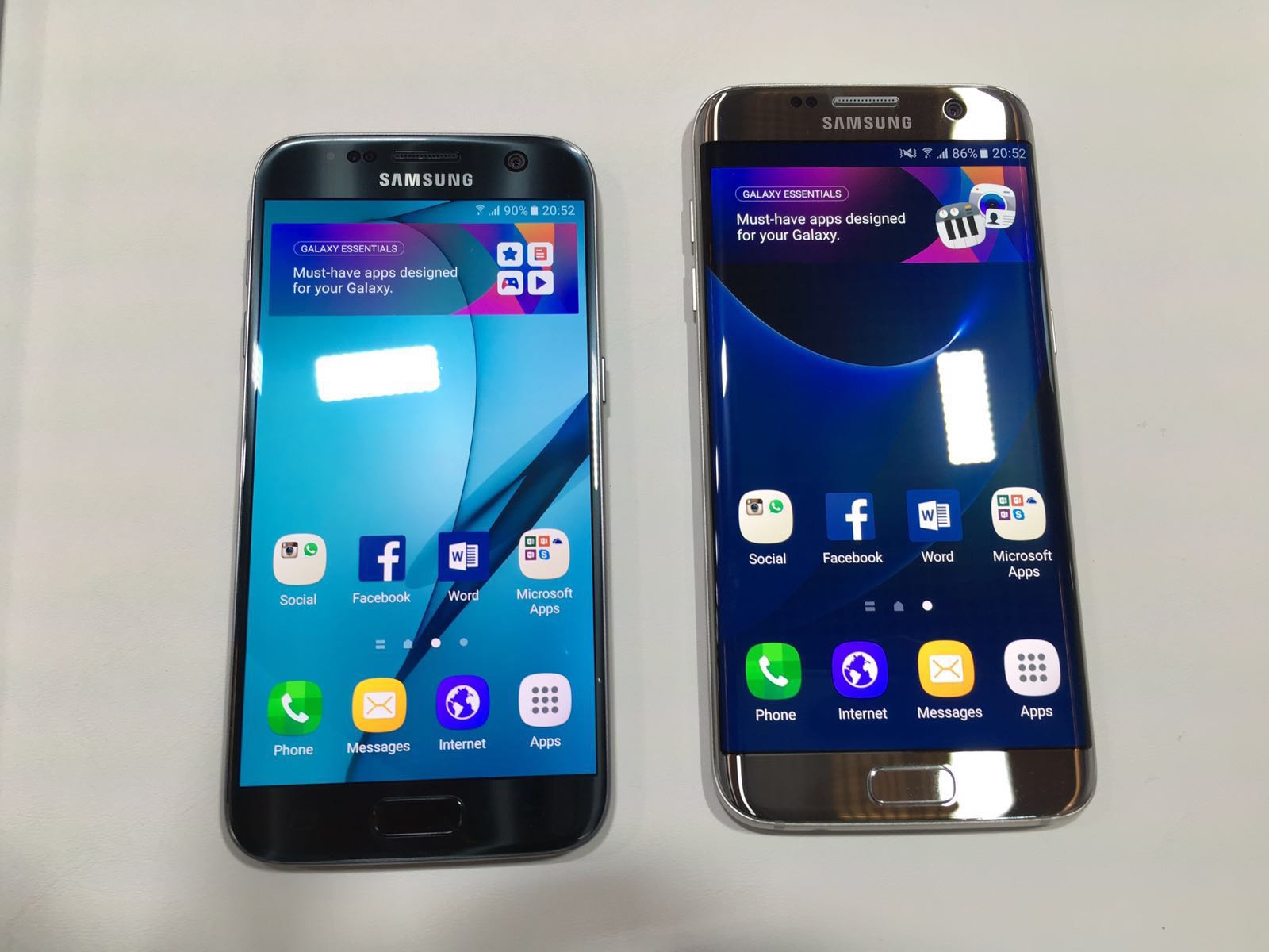 Samsung Galaxy S7 and S7 edge launched in India