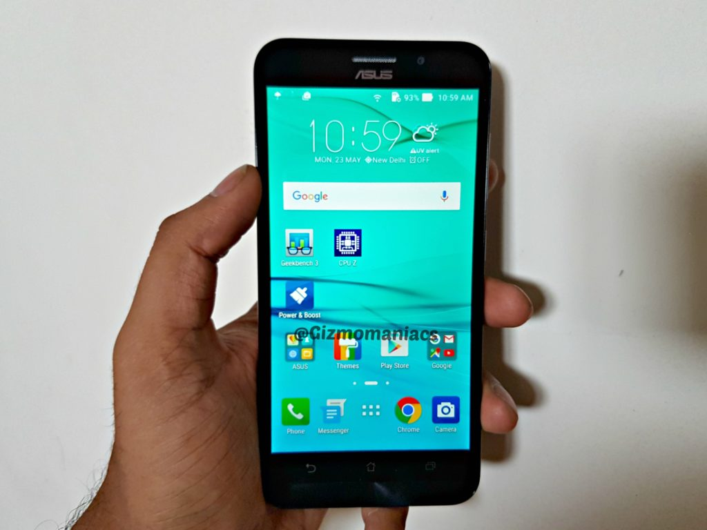 Asus Zenfone Max Z010d With Octa Core Processor And Android 60