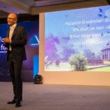 Satya Nadella comes in India and share Ideas for Tech in India