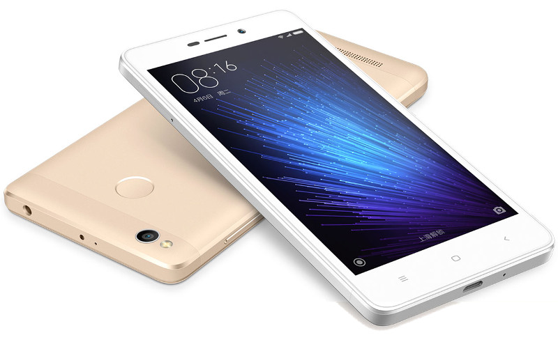 xiaomi redmi 3x with snapdragon 430 and fingerprint sensor