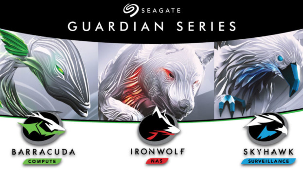 Seagate rebrands its storage drives under the Guardian name, and launches hard disks with up to 10TB capacity