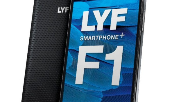 LYF F1 with 3GB RAM, 16MP camera, 4G VoLTE launched for Rs. 13,399