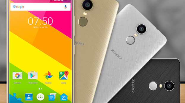 Zopo Color F5 with fingerprint sensor, 4G LTE launched for Rs. 10,590