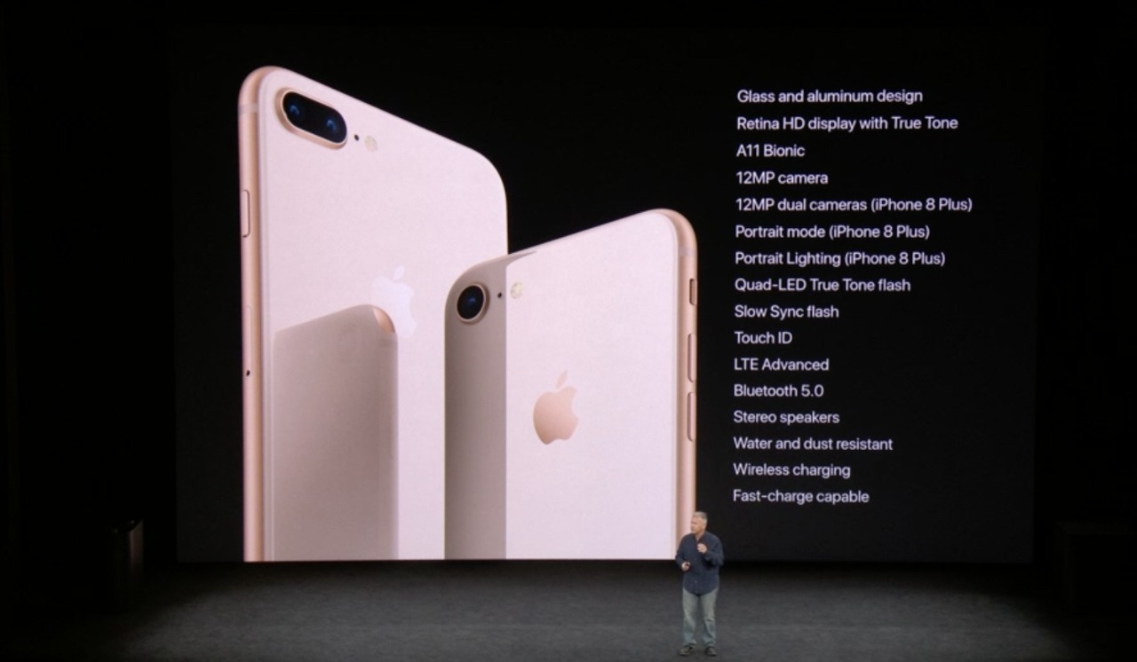 huge selection of 2c7da d072c Apple iPhone 8 and iPhone 8 Plus gets wireless charging, gets ...