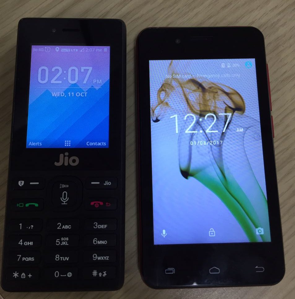 Beaches] Jio phone whatsapp install