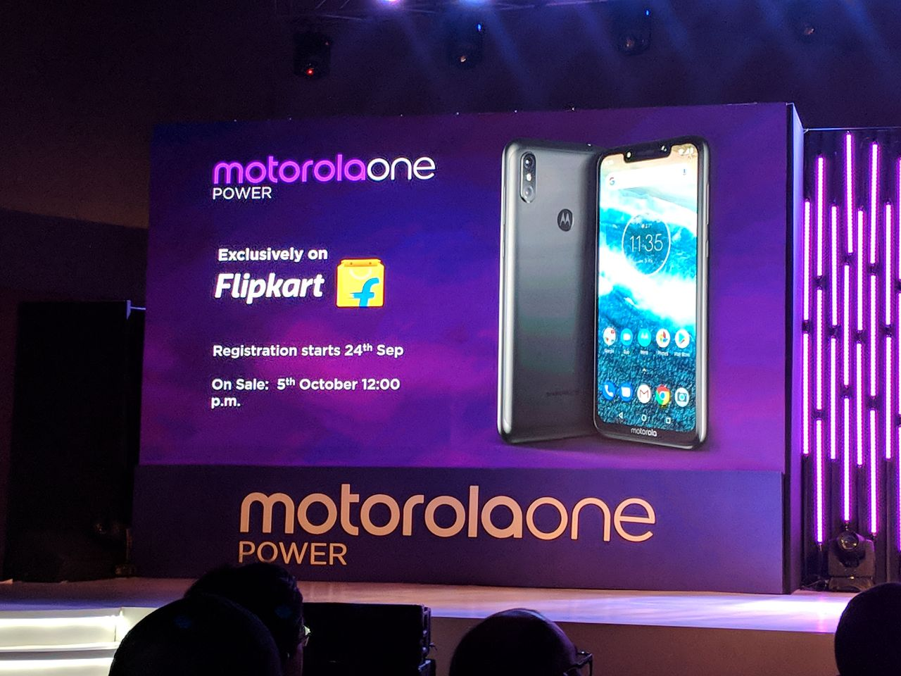 f6c4128c2 Motorola One Power Launched in India
